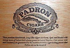 Padron 4000 Box Top