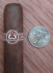 3000 Maduro with quarter for comparison