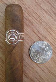 Churchill Natural with quarter for comparison