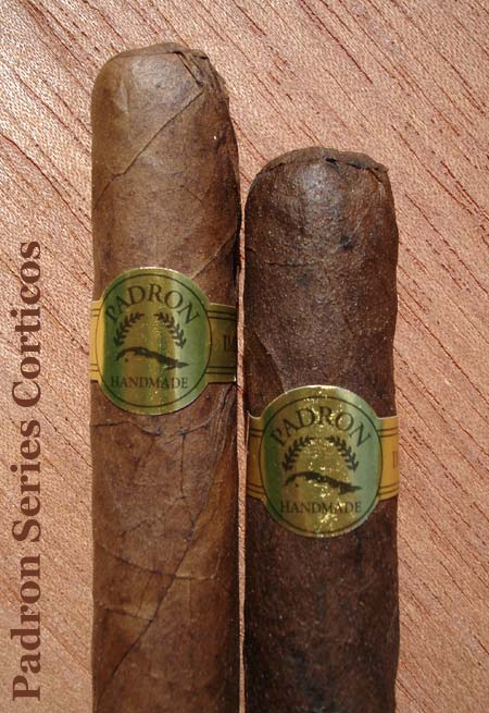 Padron Series Corticos Natural and Maduro