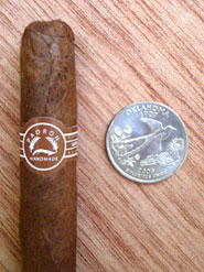 Londres Natural with quarter for comparison